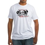 American Ground n Pound Fitted T-Shirt