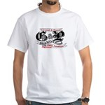 American Ground n Pound White T-Shirt