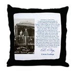 """Vermont is a state I Love"" Throw Pillow"