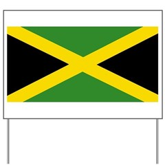 Jamaican Flag Yard Sign