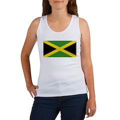 Jamaican Flag Women's Tank Top
