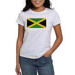 Jamaican Flag Women's T-Shirt