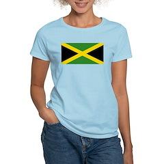 Jamaican Flag Women's Light T-Shirt