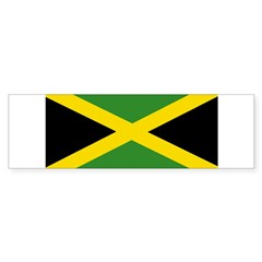Jamaican Flag Sticker (Bumper)