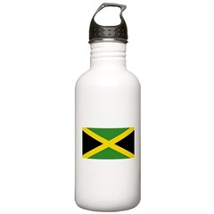 Jamaican Flag Stainless Water Bottle 1.0L