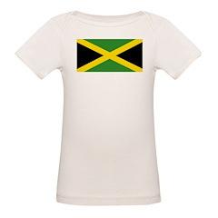 Jamaican Flag Organic Baby T-Shirt