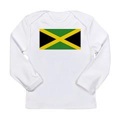 Jamaican Flag Long Sleeve Infant T-Shirt