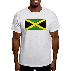 Jamaican Flag Light T-Shirt