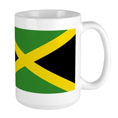 Jamaican Flag Large Mug