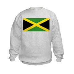 Jamaican Flag Kids Sweatshirt