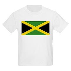 Jamaican Flag Kids Light T-Shirt
