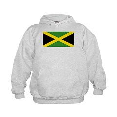 Jamaican Flag Kids Hoodie