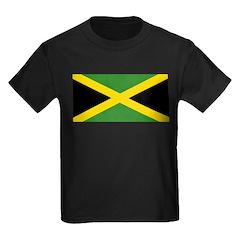Jamaican Flag Kids Dark T-Shirt