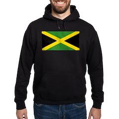 Jamaican Flag Hoodie (dark)