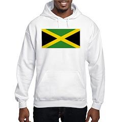 Jamaican Flag Hooded Sweatshirt