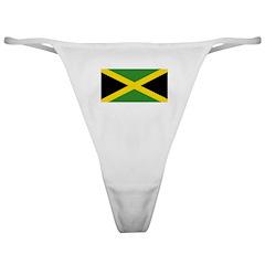 Jamaican Flag Classic Thong