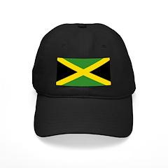 Jamaican Flag Black Cap