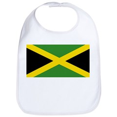 Jamaican Flag Bib