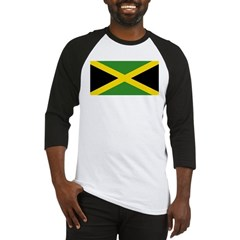 Jamaican Flag Baseball Jersey