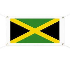 Jamaican Flag Banner