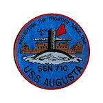 """USS AUGUSTA 3.5"""" Button"""