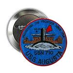 """USS AUGUSTA 2.25"""" Button"""
