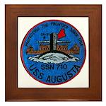 USS AUGUSTA Framed Tile