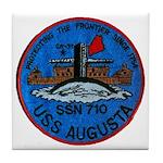 USS AUGUSTA Tile Coaster