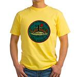 USS AUGUSTA Yellow T-Shirt
