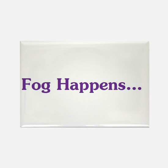 Cute Fog Rectangle Magnet