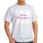 Divine Proportions Ash Grey T-Shirt