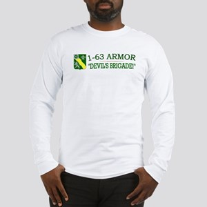 1st Bn 63rd Armor Long Sleeve T-Shirt