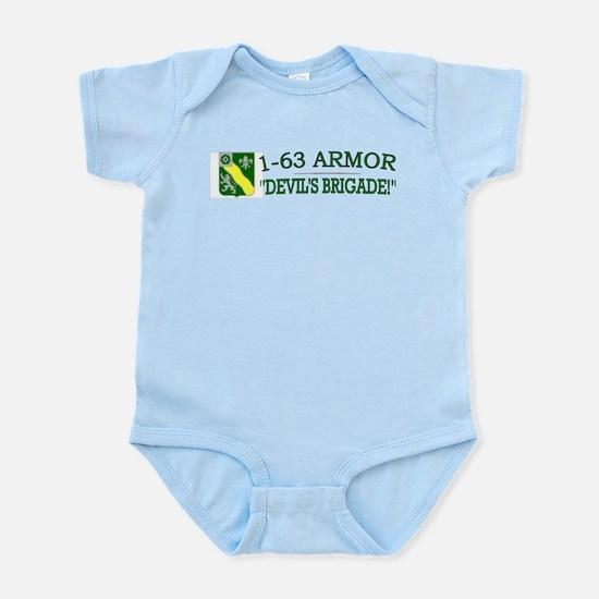 1st Bn 63rd Armor Infant Bodysuit