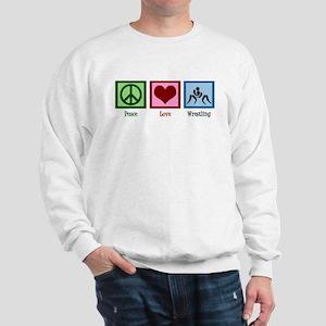 Peace Love Wrestling Sweatshirt