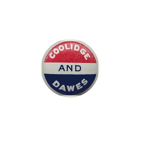 Calvin Coolidge-Charles Dawes Mini Button
