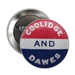 "Calvin Coolidge-Charles Dawes 2.25"" Button"