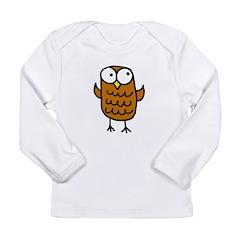 Maggie's Owl Long Sleeve Infant T-Shirt