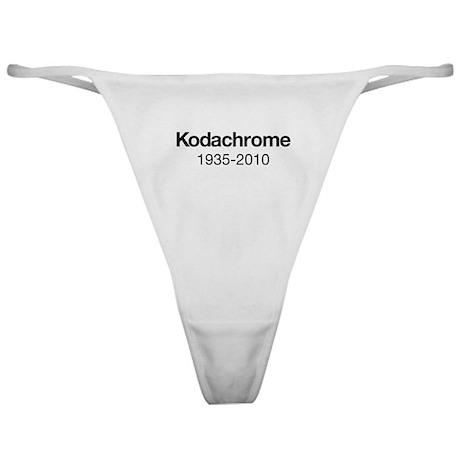 Kodachrome 1935-2010 Classic Thong