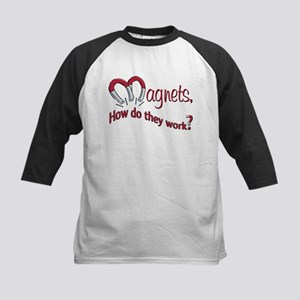Magnets How Do They Work Kids Baseball Jersey