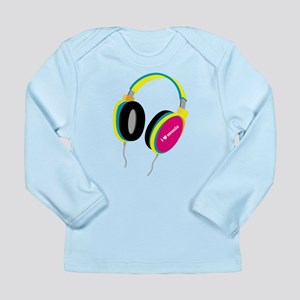House Music Headphones Long Sleeve Infant T-Shirt