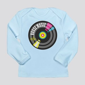 House Music Vinyl Long Sleeve Infant T-Shirt