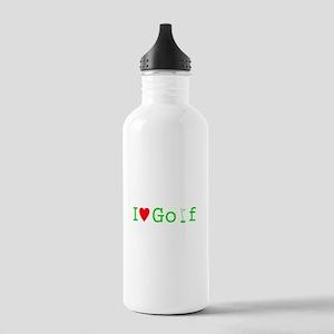 I Heart Golf Stainless Water Bottle 1.0L