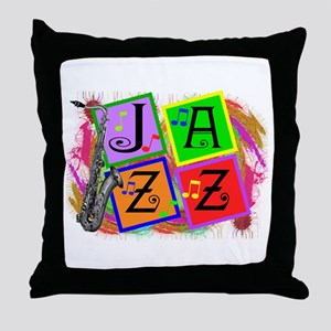 Music Lovers Throw Pillow