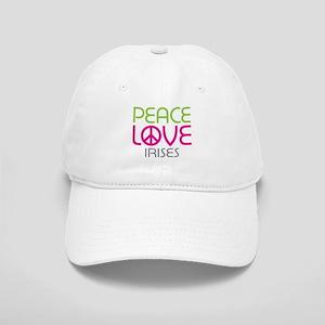 Peace Love Irises Cap