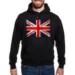 Grunge UK Flag Hoodie (dark)