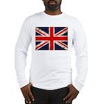Grunge UK Flag Long Sleeve T-Shirt