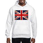 Grunge UK Flag Hooded Sweatshirt