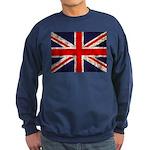 Grunge UK Flag Sweatshirt (dark)