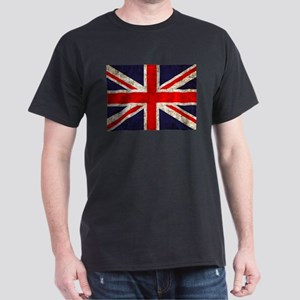 Grunge UK Flag Dark T-Shirt