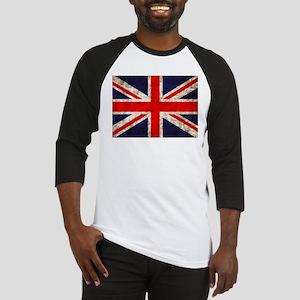 Grunge UK Flag Baseball Jersey